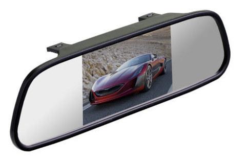 Зеркало Silverstone F1 Interpower со встроенным монитором 4,3