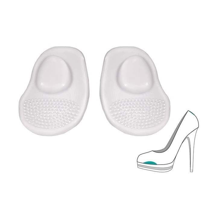 Ортопедические подушечки «Минус 1 размер» в модельную обувь. При болях, натоптышах и «жжении», 1 пара