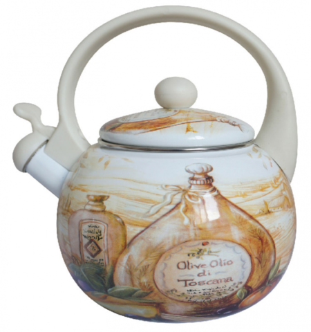 Чайник эмалированный
