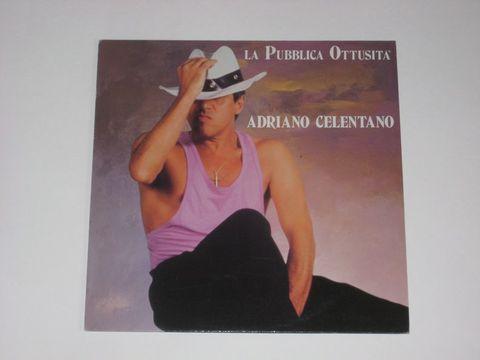 Adriano Celentano / La Pubblica Ottusita (LP)