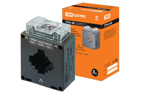ТТН  40/300/5-10VA/0,5-Р TDM