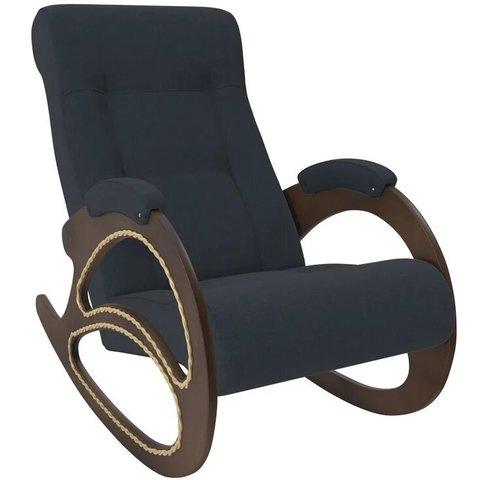 Кресло-качалка Комфорт Модель 4 орех/Montana 600