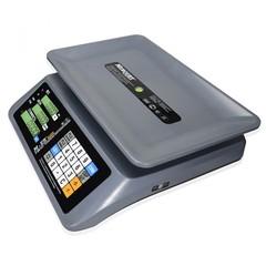 Весы торговые настольные Mertech M-ER 321AC-32.5 Margo, LCD/LED, АКБ, 32кг, 5гр, 330х230, с поверкой, без стойки