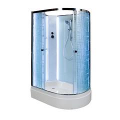 Душевая кабина DETO ЕМ2712 L N 120х80 см с LED подсветкой