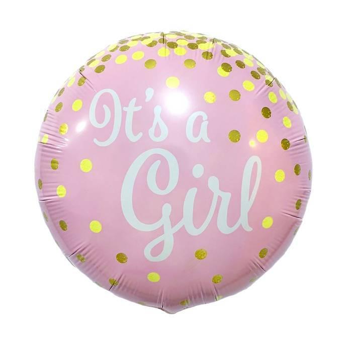 Круг на выписку It's a girl