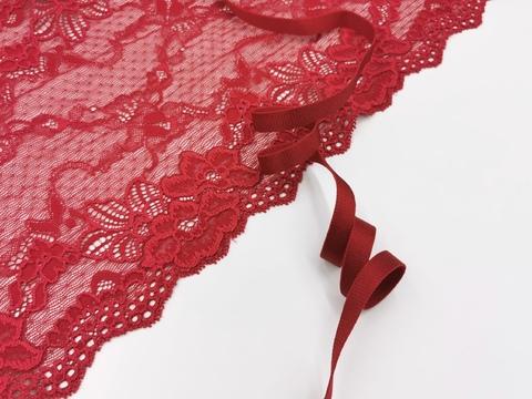 _Бретелечная резинка, 10 мм, темно-красный, (Арт: BR640/10-101), м