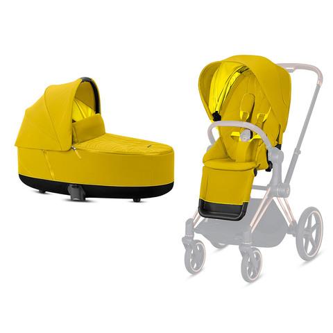 Набор Seat Pack + Спальный блок Cybex Priam III Mustard Yellow