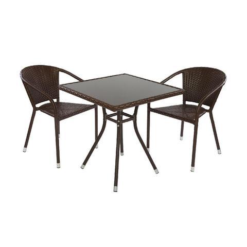 Комплект кофейный CAFÉ (стол и 2 стула)