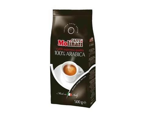 Кофе в зернах Molinari 100% Арабика, 500 г