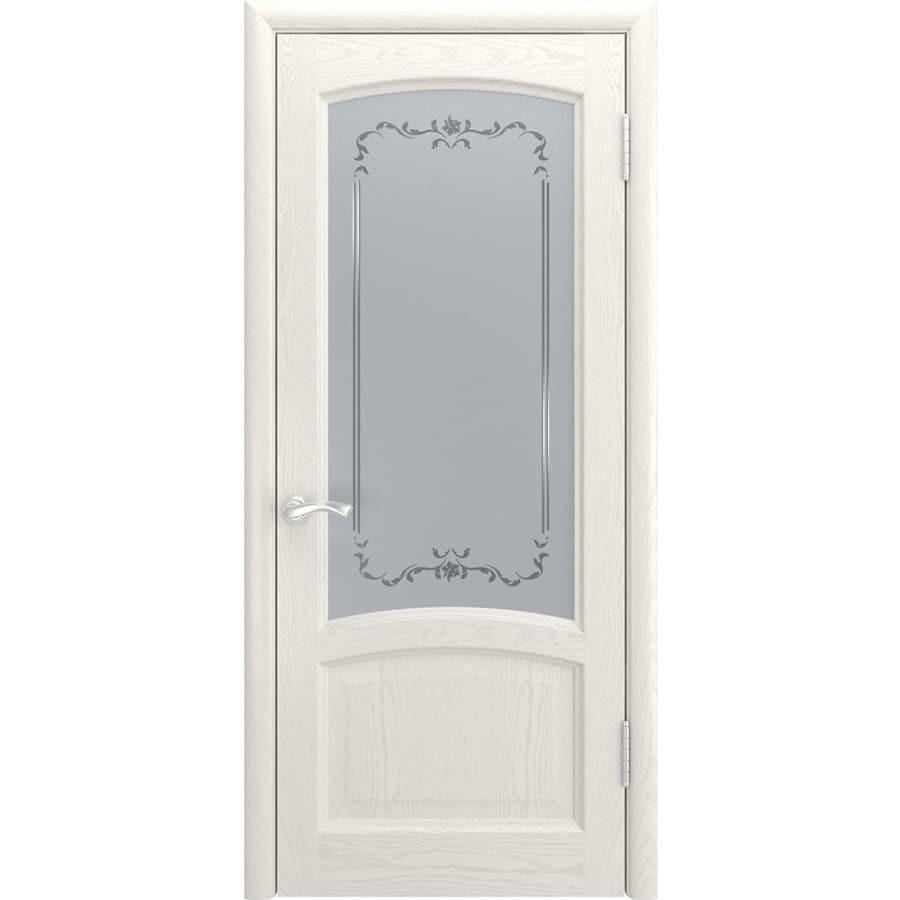 Двери классика Межкомнатная дверь шпон Luxor Клио дуб RAL 9010 остеклённая klio-do-dub-beliy-dvertsov.jpg
