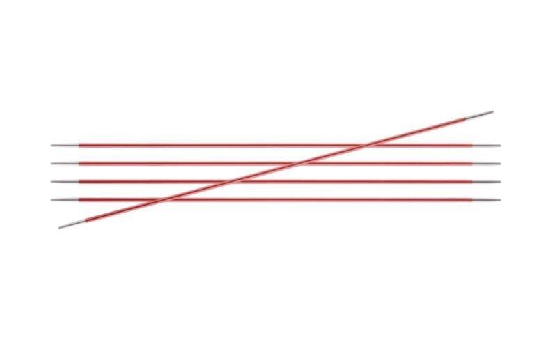 Спицы KnitPro Zing чулочные 2,5 мм/20 см 47033