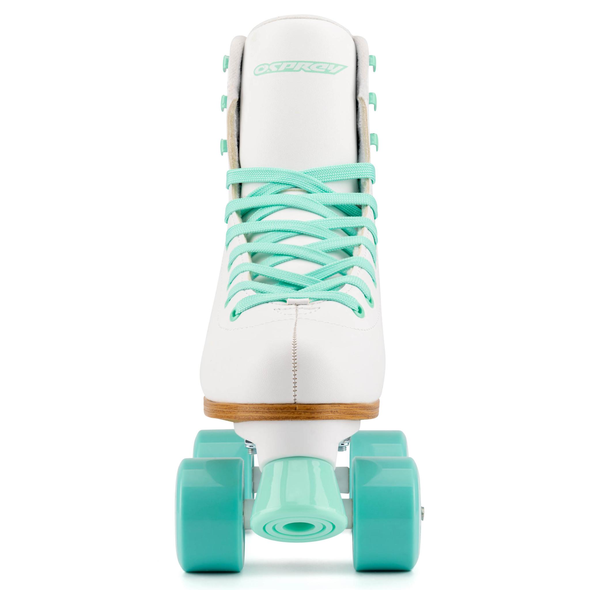Quad с высоким ботинком, белые