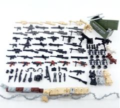Набор оружия и аксессуаров для минифигурок в ассортименте