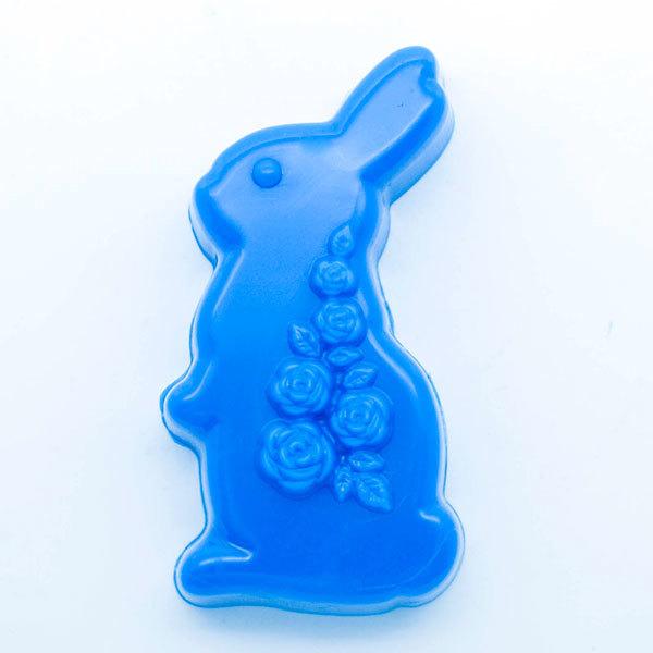 Форма для мыла Кролик/розы