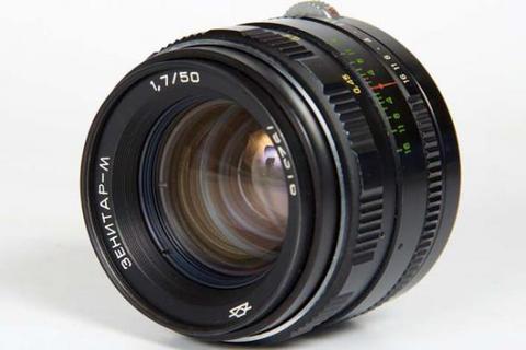 Объектив Зенитар-М 50 mm f/ 1.7