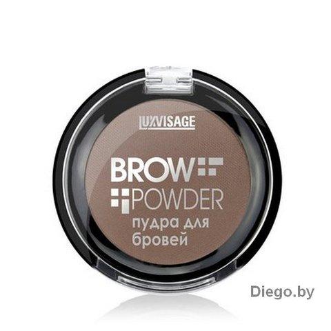 Пудра для бровей Brow Powder 02 Soft brown