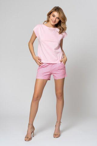 Пижама 51817L розово-белый Laete
