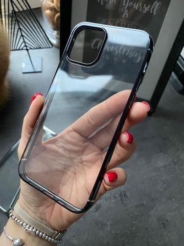 Чехол iPhone 12 /5,4''/ Baseus Shining Case /black/