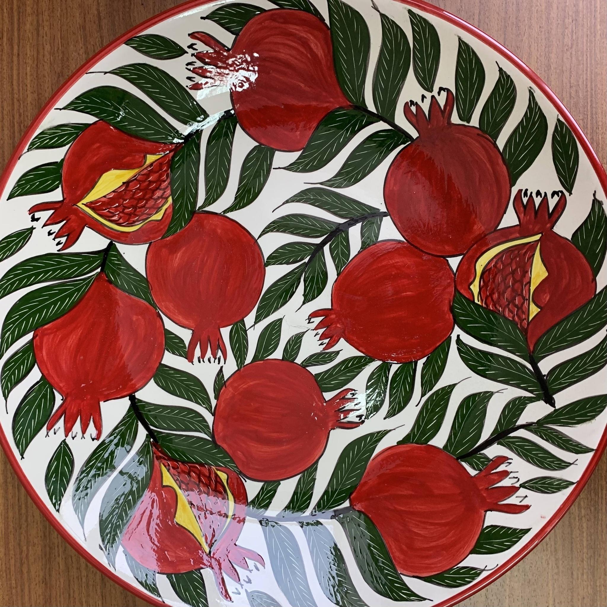 Посуда Ляган ручная роспись гранат 42 см 4nKamsOQK2s.jpg