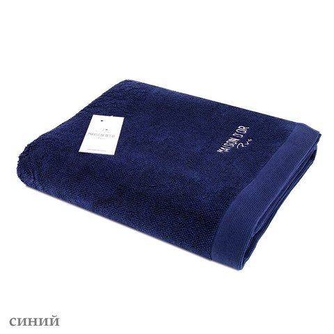 ADVEND - АДВЕНД  синий полотенце махровое Maison Dor(Турция) .