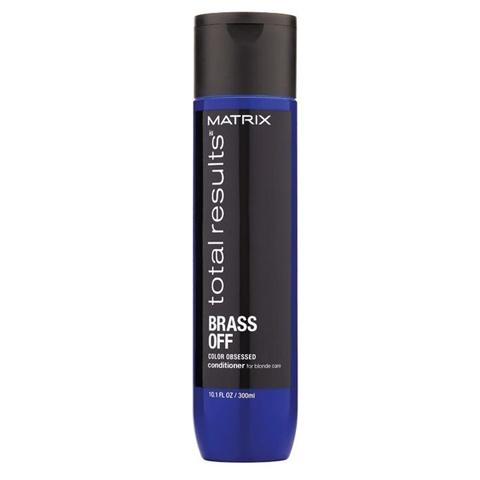 Matrix Total Results Color Obsessed Brass Of: Кондиционер для нейтрализации желтизны волос (Conditioner), 300мл/1л