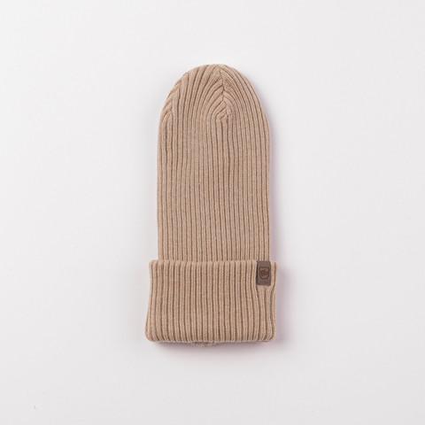 Cotton hat 0+, Beige
