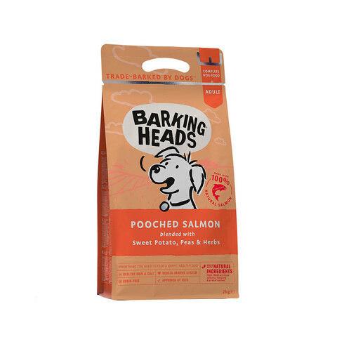 купить Баркинг Хедс сухой беззерновой корм Barking Heads для собак с лососем и картофелем Мисочку оближешь