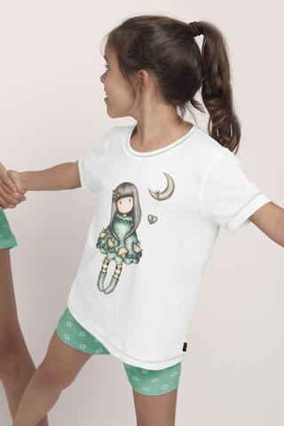 Пижама для девочки с шортами SANTORO 55583