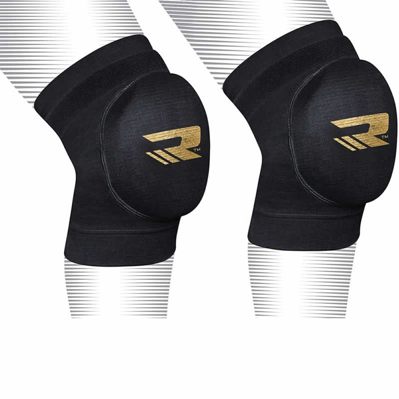 Наколенники Наколенники RDX Knee Pads Brace Support Protection Black/Gold 1.jpg