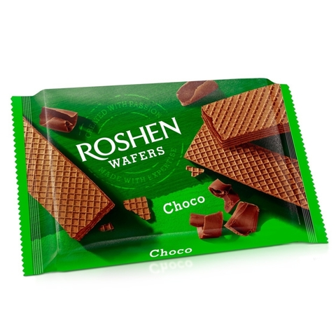 Вафли ROSHEN Wafers Шоколад 72 г УКРАИНА