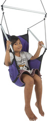 Подвесное кресло Ticket to the Moon Mini Moon Chair Purple - 2