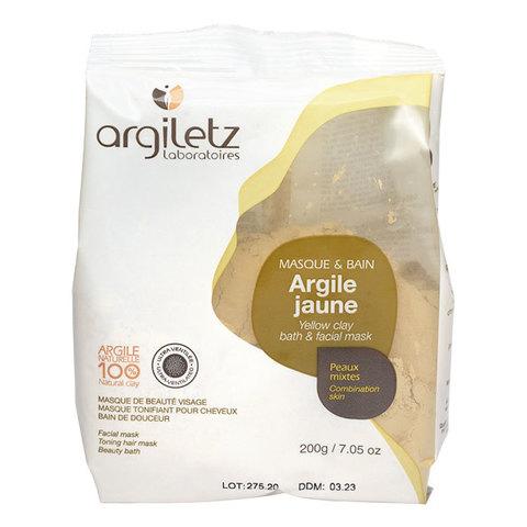 Желтая глина порошок-маска УЛЬТРА Argiletz, 200 гр