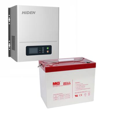 Комплект ИБП HPS20-0612N-АКБ MM75 (12в, 600Вт)