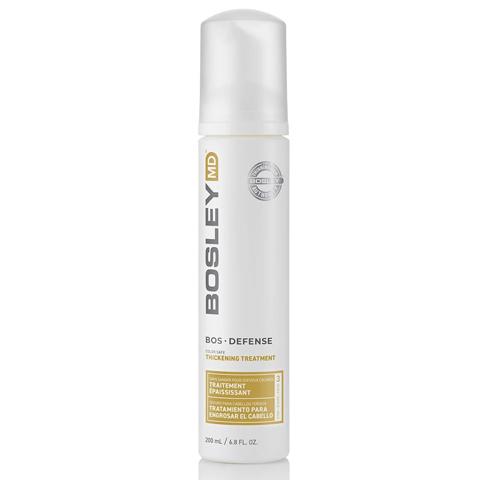 Bosley MD Defense Желтая линия: Уход для предотвращения истончения и выпадения волос (BosDefense Color Safe Thickening Treatment)