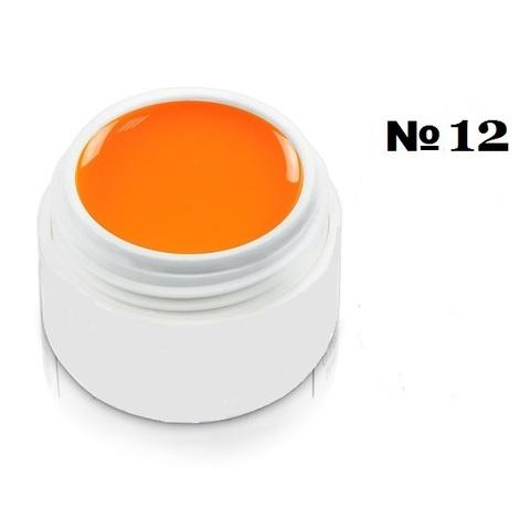 Моделирующий гель-пластилин для декоративного дизайна 7гр. №12 Оранжевый
