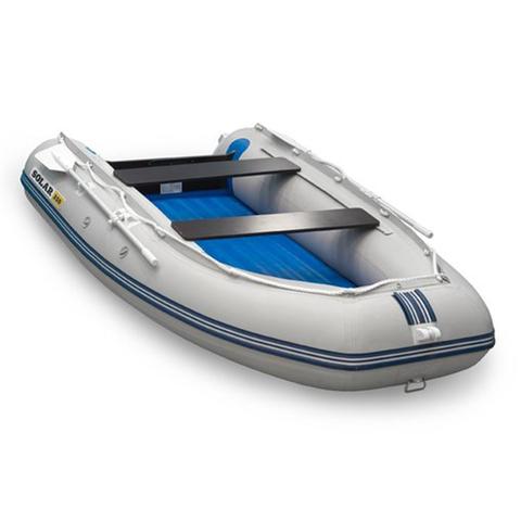 Надувная ПВХ-лодка Солар Максима - 330 (светло-серый)