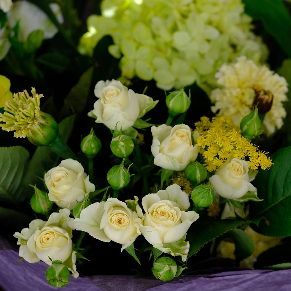 Букет с летними цветами