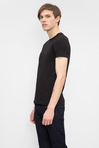 Мужская черная футболка Tommy Hilfiger