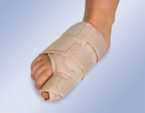 Бандаж на большой палец стопы при вальгусной деформации (ночной)