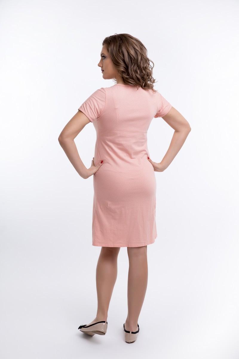 Ночная сорочка для беременных и кормящих 09617 коралл
