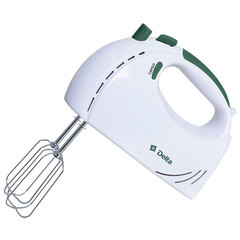 Миксер электрический DELTA DL-5061 белый с зеленым