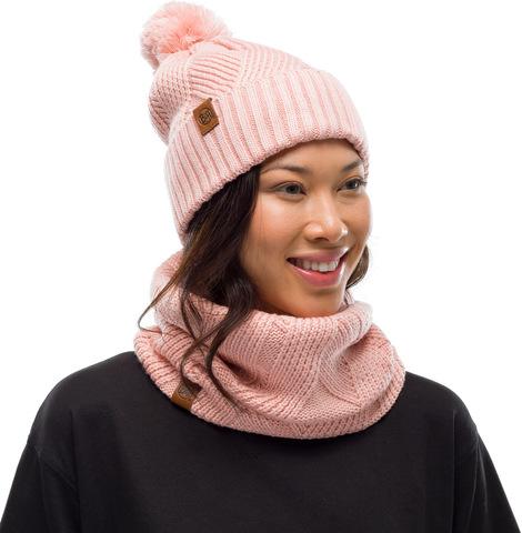 Вязаный шарф-труба с флисом Buff Neckwarmer Knitted Polar Raisa Rose фото 2