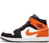 Кроссовки Nike Air Jordan 1 Retro Black/Orange