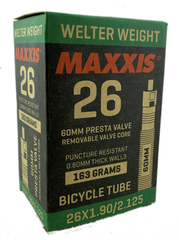 Велокамера Maxxis Welter Weight 26x1.90/2.125 FVSEP60 Вело ниппель 60 мм