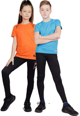 Подростковые Тайтсы Nordski Premium Jr. Black/Blue