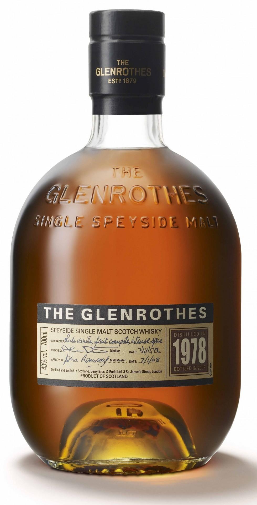 Виски Гленротс 1978 0,7л