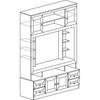 Инна Арт.603 Шкаф многоцелевого использования