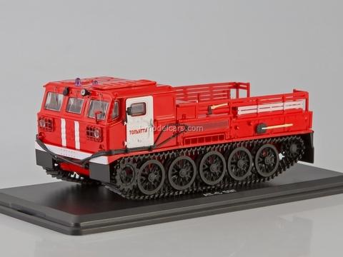 ATS-59G Artillery tractor fire engine Tolyatti 1:43 Start Scale Models (SSM)