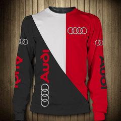 Толстовка 3D принт, Audi (3Д Свитшот Ауди) 02