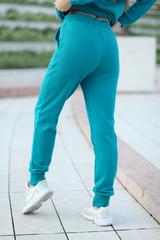 Бирюзовый спортивный костюм недорого